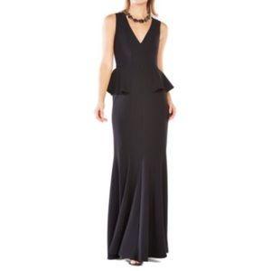 BCBG Peplum Gown